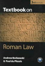 Textbook on Roman Law - J. Andrew Borkowski, Paul J. Du Plessis (ISBN 9780199276073)