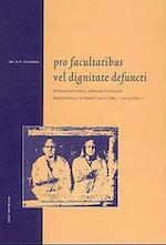 Pro facultatibus vel dignitate defuncti - Ralph Peter Schoen (ISBN 9789057300981)