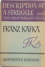 Description of a struggle - Franz Kafka