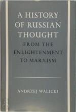 A History of Russian Thought - Andrzej Walicki
