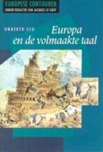 Europa en de volmaakte taal - Umberto Eco, Yond Boeke (ISBN 9789051571875)