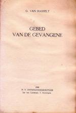 Gebed van de gevangene - Pseud.] G. [Ernest CLAES Van Hasselt