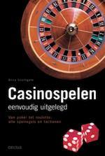 Casinospelen eenvoudig uitgelegd - Anna Southgate (ISBN 9789044719895)