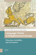Language Choice in Enlightenment Europe (ISBN 9789048535507)