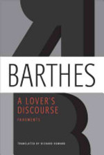 A Lover's Discourse - Roland Barthes (ISBN 9780374532314)