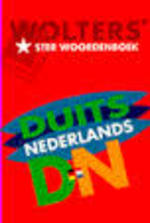 Wolters& ster woordenboek Duits - Nederlands