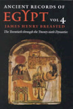 Ancient Records of Egypt: The twentieth to the twenty-sixth dynasties - James Henry Breasted (ISBN 9780252069765)