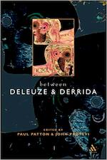 Between Deleuze and Derrida - Paul Patton, John Protevi (ISBN 9780826459732)