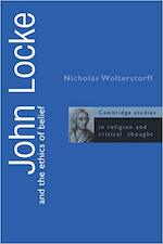 John Locke and the Ethics of Belief - Nicholas Wolterstorff (ISBN 9780521559096)