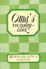 Oma's receptenboek (ISBN 9789055134434)