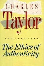 The Ethics of Authenticity - Charles Taylor (ISBN 9780674268630)