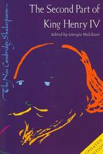 Second Part of King Henry IV - William Shakespeare (ISBN 9780521689502)