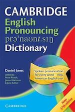 Cambridge English pronouncing dictionary - Daniel Jones, Peter Roach, James Hartman (ISBN 9780521680875)