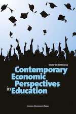 Contemporary economic perspectives in education (ISBN 9789461661586)