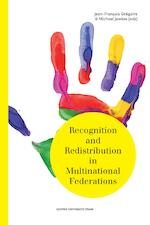 Recognition and Redistribution in Multinational Federations (ISBN 9789461661746)