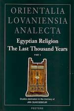 Egyptian religion the last thousand years