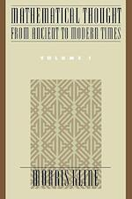 Mathematical Thought from Ancient to Modern Times - Morris Kline (ISBN 9780195061352)