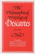 The Philosophical Writings of Descartes - Rene Descartes (ISBN 9780521288071)