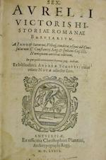 Historiae Romanae breviarium. [bound with] De vita et moribus imperatorum Romanorum - Sextus Aurelius Victor, Andreas Schottus