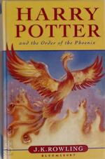 Harry Potter and the Order of the Phoenix - J. K. Rowling (ISBN 9780747551003)