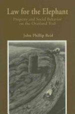 Law for the Elephant - John Phillip Reid (ISBN 9780873281645)