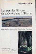 Les peuples libyens de la Cyrénaïque à l'Égypte