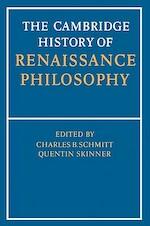 The Cambridge History of Renaissance Philosophy - Charles B. Schmitt (ISBN 9780521397483)