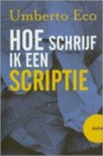 Hoe schrijf ik een scriptie - Umberto Eco, Yond Boeke (ISBN 9789057134944)