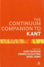 The Continuum Companion to Kant - (ISBN 9781441112576)