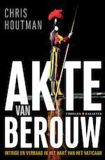 Akte van berouw - Chris Houtman (ISBN 9789045213552)