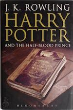 Harry Potter and the half-blood prince - J.K. Rowling (ISBN 9780747581109)