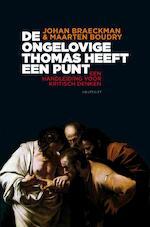 De ongelovige Thomas heeft een punt - Johan Braeckman (ISBN 9789089241887)