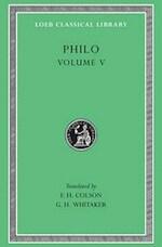 Philo V - Philo (ISBN 9780674993037)