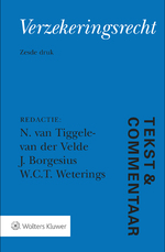 Tekst & Commentaar Verzekeringsrecht (ISBN 9789013145625)