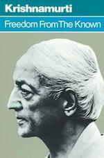 Freedom from the Known - Jiddu Krishnamurti (ISBN 9780060648084)