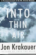 Into Thin Air - Jon Krakauer (ISBN 9780679457527)