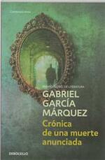 Cronica de una muerte anunciada - Gabriel Garcia Marquez (ISBN 9788497592437)