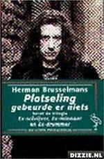 Plotseling gebeurde er niets - Herman Brusselmans (ISBN 9789035115613)