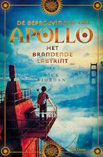 De brandende doolhof - Rick Riordan (ISBN 9789000351022)