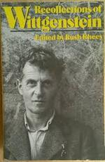 Recollections of Wittgenstein - Rush Rhees (ISBN 9780192876287)