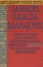 De ongelooflijke maar droevige geschiedenis van de onschuldige Eréndira en haar harteloze grootmoeder en andere verhalen - Gabriel García Márquez, Barber van de Pol (ISBN 9789029015950)
