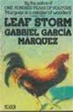 Leaf storm - Gabriel García Márquez (ISBN 9780330256889)