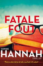 Fatale fout - Sophie Hannah (ISBN 9789026137167)