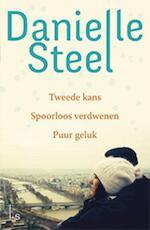 Omnibus - Tweede kans - Spoorloos verdwenen - Puur geluk - Danielle Steel (ISBN 9789021017693)