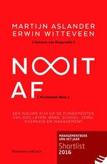 Nooit af - Martijn Aslander, Erwin Witteveen (ISBN 9789047009139)