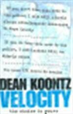 Velocity - Dean Ray Koontz (ISBN 9780007196968)