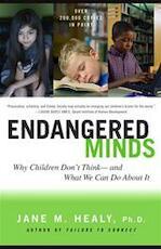 Endangered Minds - Jane M. Healy (ISBN 9780684856209)