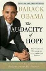 The audacity of hope - Barack Obama (ISBN 9780307237705)