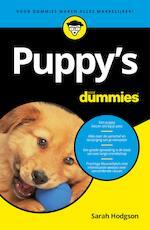 Puppy's voor Dummies - Sarah Hodgson (ISBN 9789045352831)