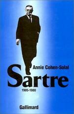 Sartre - Annie Cohen-Solal (ISBN 2070705277)